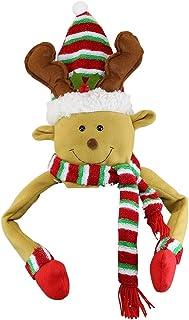 winemana Christmas Tree Top, Reindeer Christmas Tree Hugger, Hollow Christmas Tree Topper Decoration, Christmas Party Supp...