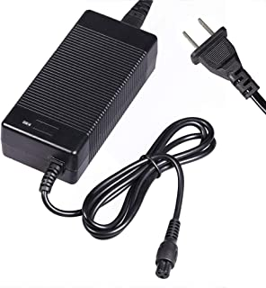 Millet Electric Scooter Cavalry Battery Charger Power Fast 3-Prong Inline Connector AC//DC Lithium Power Adapter 42V 1.5A Output for 36V Pocket Mod Sports Mod