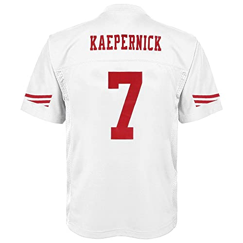 Outerstuff Colin Kaepernick San Francisco 49ers Youth White Jersey