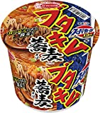 エースコック スーパーカップ1.5倍 ブタキム蕎麦 108g ×12個