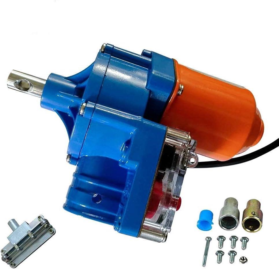 WSVULLD Motor de Efecto Invernadero Roll up Kits de Motor 100M DC 24V Motor eléctrico Roll-up Motor Climber Equipo de ventilación Equipo de ventilación automática (Color : 100w)