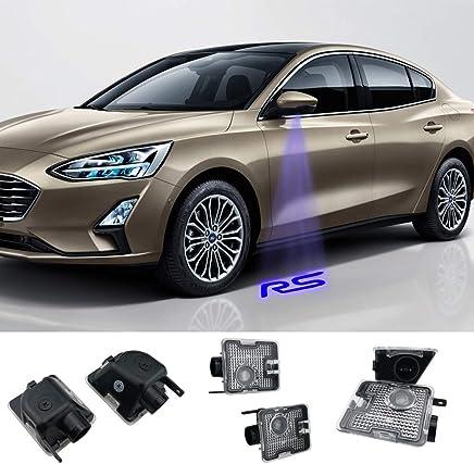 Juego de 2 proyectores retrovisores laterales compatibles con Focus RS Car (MK3.5)