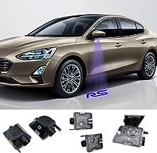 Juego de 2 proyectores retrovisores laterales compatibles con Focus RS Car (MK3.5) 2014-2018year