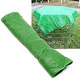 Rete di protezione per recinto da esterno 142 x 142 cm 100% poliestere