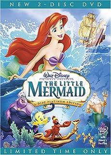 The Little Mermaid (2-Disc Platinum Edition) (Bilingual) (B000F8O35U) | Amazon price tracker / tracking, Amazon price history charts, Amazon price watches, Amazon price drop alerts