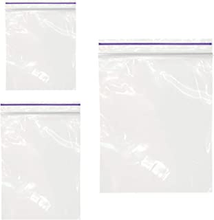 300 PCS Small Ziplock Bags for Jewerly - 2 Mil Clear Poly Zipper Bags Sizes 1.3
