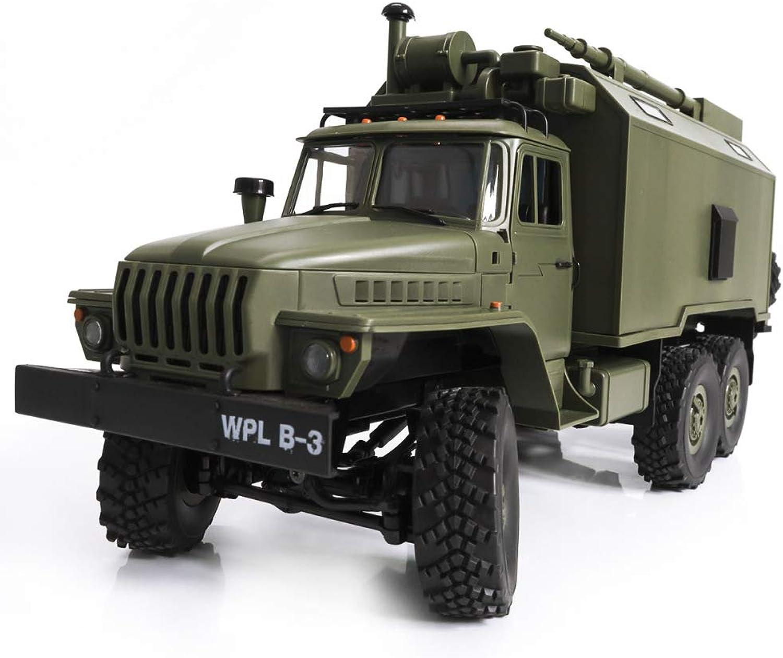 Papay 1 16 Sowjetischen Ural Command Car Simulation Militr Karte Fernbedienung Auto Spielzeugauto 6 Radantrieb Modell,ArmyGrün