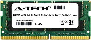 A-Tech 16GB モジュール Acer Nitro 5 AN515-42 ノートパソコン & ノートブック用 DDR4 2666Mhz メモリーラム対応 (ATMS279666A25832X1)