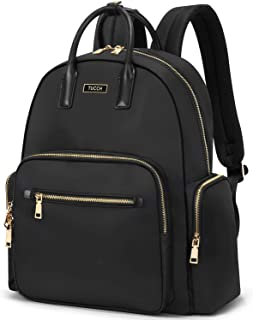 TUCCH Women Laptop Backpack, 14 Inch Lightweight Computer Rucksack, Lady Fashion Casual Daypack Purse Business Travel Shou...