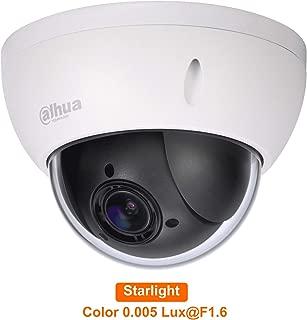 Dahua SD22204UE-GN 2MP Starlight 4X PTZ Network IP Camera PoE Support Triple-Streams Encoding Original English Version and upgradable