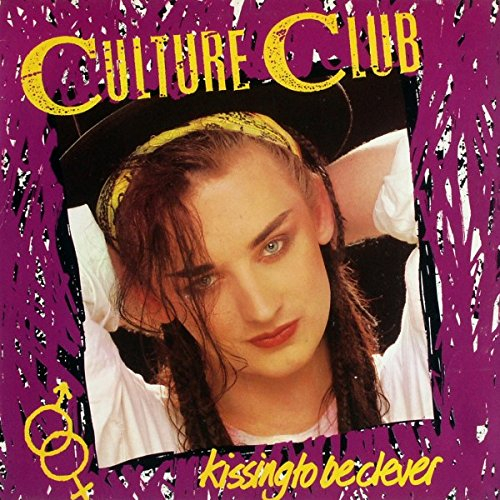 Culture Club Kissing To Be Clever 12 inch 33 rpm LP Vinyl Album Record