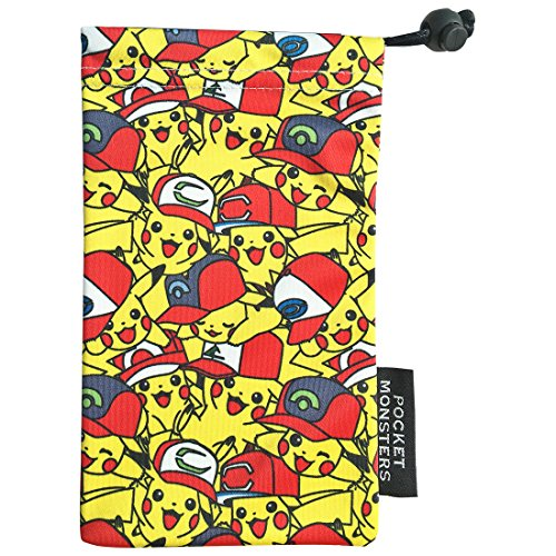Chock Pikachu van het theater Version Pokemon Big Smartphone Portemonnee / Satoshi