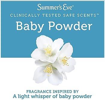 Summer's Eve Freshening Spray, Baby Powder, 2 oz, 3 Pack