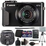 Canon PowerShot G7 X Mark II 20.1 MP Digital Camera Black (International Version) Best Accessory Bundle