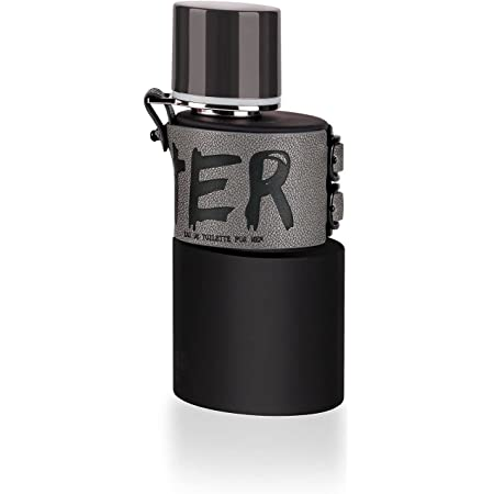 ARMAF Hunter Intense for Men Eau De Toilette Spray 3.4 Ounces, clear
