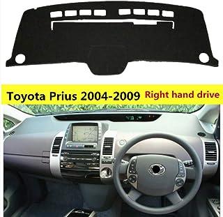 HCDSYSN 車のダッシュボードカバー、トヨタPrius 2004-2009の右手ドライブの塵保護自動ダッシュボードのマットの敷物