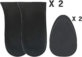 3/4 Inch(20mm) Heel Cushion Pad Insert Lift for Limb Leg Length Discrepancy and Uneven Hips (2 Right + 2 Fillers)