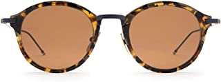 Luxury Fashion | Thom Browne Womens TBS908TKTNVY Brown Sunglasses | Fall Winter 19