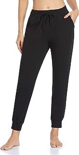Vimbloom Pantalon de Jogging Femme Coton Longue Pantalon de Sport avec Poches Pantalon de Survêtement pour Jogging Fitness...
