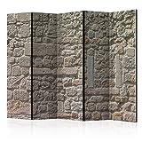 murando Paravento Loft 225x172 cm Stampa unilaterale su Tela in TNT Parete Divisoria Interno Separatore Stanza Pieghevole Decorazioni Pietra Mattone calcestruzzo f-A-0454-z-c