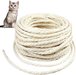 """6MM 1//4/"""" jute cordage en sisal bobines de jardin//terrasse//pet jouet chat griffoir fender"""