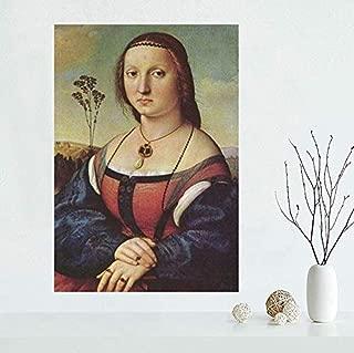 XQWZM Wall Art Picture Poster, Mona Lisa Canvas Poster Print Art Pictures, para la decoración del hogar Canvas Wall Poster 50X70Cm Sin Marco