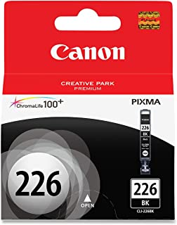 Genuine Canon CLI-226 Ink Cartridge, Black