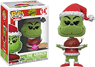 Funko POP! Books: Dr. Suess The Grinch Who Stole Christmas - The Grinch [Flocked with Roast Beast] #14 - BoxLunch Exclusive!