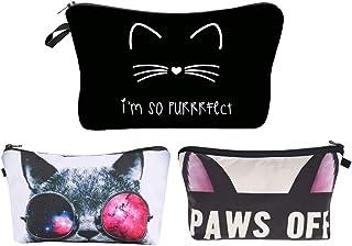 Jom Tokoy Unicorn Makeup Bag 3pcs/set Cosmetic Bag kitty Pencil Case (HZBZH2)