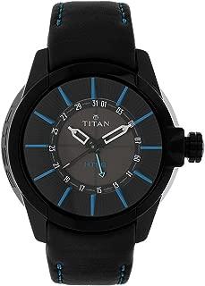 Titan HTSE Black Dial Analog Watch for Men