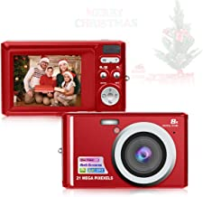 HD Mini Digital Cameras,Point and Shoot Digital Video...