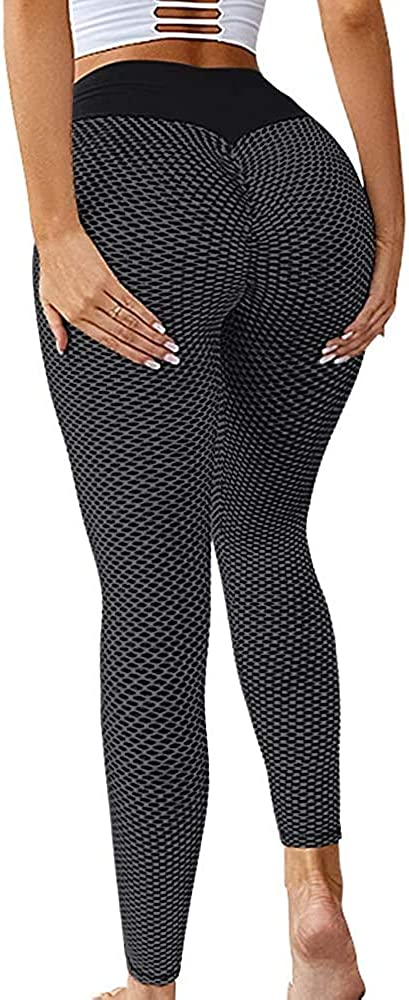 55% OFF Memoryee Women's Ruched High Waist Pants Butt Lifti Trust Running Yoga
