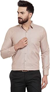 JAINISH Cotton Shirt for Men's (Light-Blue)