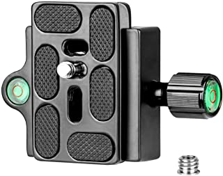 """Koolehaoda Clamp and Quick Release Plate with 1/4-3/8"""" Screw Adapter"""
