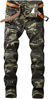 Men's Camo Denim Jeans