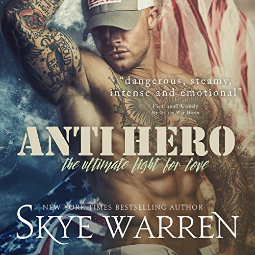 Anti Hero audiobook cover art