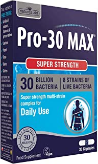 Natures Aid Pro-30 MAX, 30 Billion Live Bacteria, Daily,