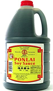 Kimlan Ponlai Soy Sauce, Naturally Fermented, All Purpose Seasoning 1 Gallon