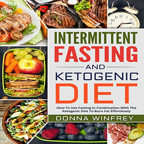 Intermittent Fasting and Ketogenic Diet audiobook cover art
