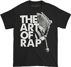 Ice-T Men's The Art of Rap Photo Mens Tee T-Shirt Black