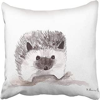 Hedgehog Baby Hedgehog iPhone se 5 5s case装飾的な枕カバー45x45 cm、家の装飾枕カバージッパー付き枕カバークッションカバーカバー