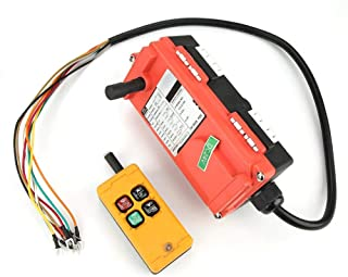 4 Key Crane Hoist Control,Lifting Control remoto industrial Interruptor de botón 24V Stop Start Up Down