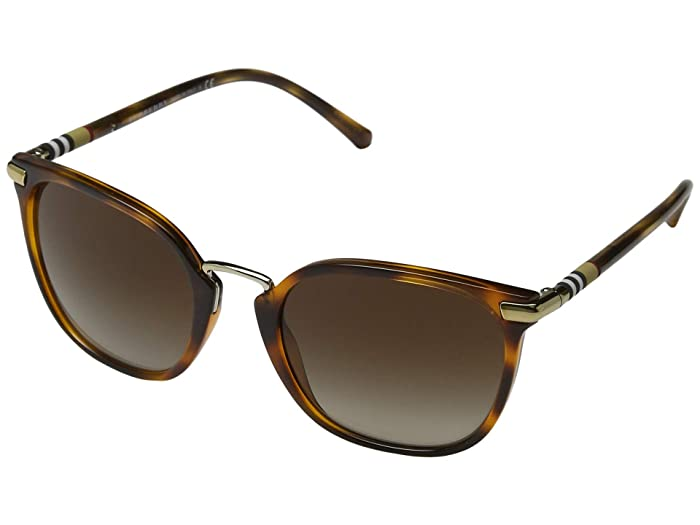 Burberry  0BE4262 (Light Havana/Brown Gradient) Fashion Sunglasses