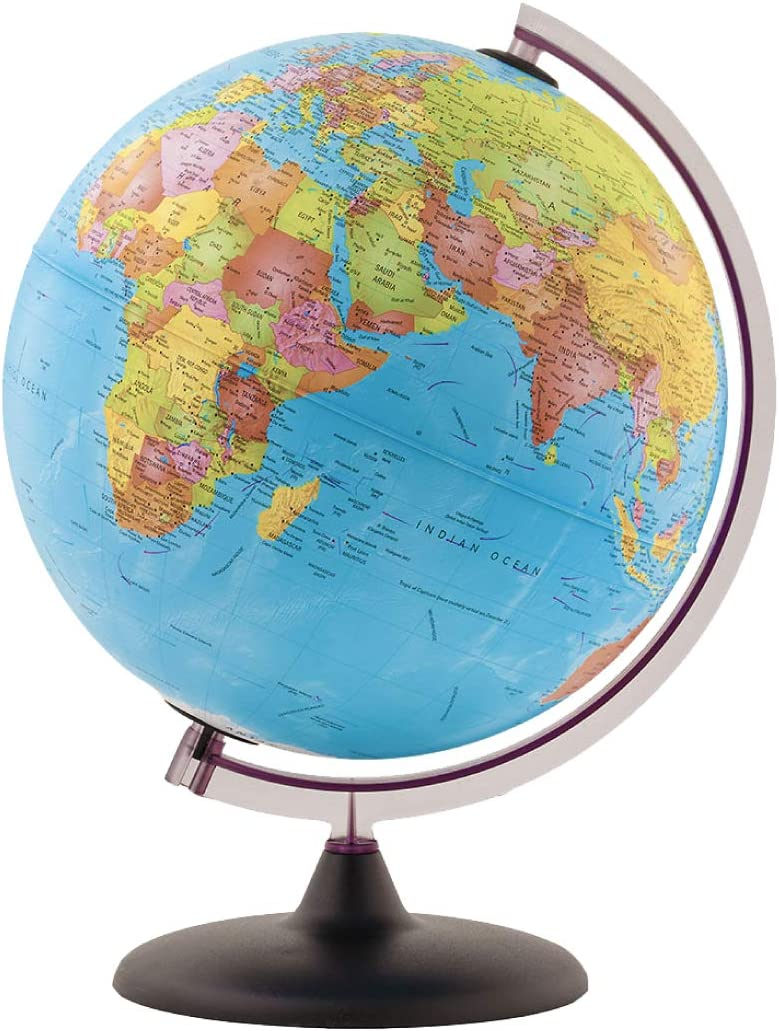"Waypoint Geographic World Popular brand in the world Globe for Kids 10"" Little Adventurer Rapid rise -"