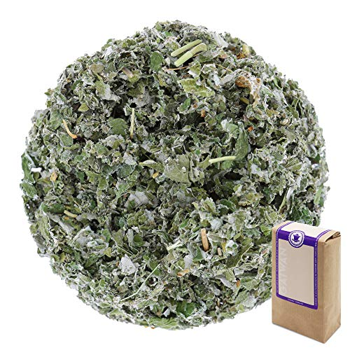 Num. 1411: Te de hierbas organico \Hojas de frambuesa\ - hojas sueltas ecologico - 100 g - GAIWAN® GERMANY - frambuesa de la agricultura ecologica en Polonia