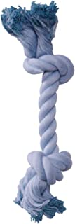 Dogit 72375 Blue Cotton Rope Bone, Small
