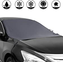 Shynerk Magnetic Edges Car Snow Cover, Frost Car Windshield Snow Cover, Frost Guard Protector, Ice Cover, Car Windsheild Sun Shade, Waterproof Windshield Protector Car/Truck/SUV 82