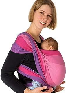DIDYMOS Woven Wrap Baby Carrier Stripes EVA (Organic Cotton), Size 4