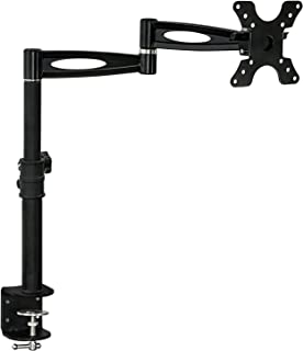 "Mount-It! MI-705, 3-Way Adjustable Tilting Desk Mount Bracket for a 13"" to 30"" LCD Monitor with the VESA of 50x50,100x100mm and Weight Capacity of 33lbs."