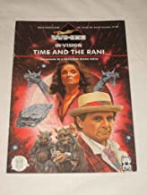 Doctor Who In Vision Magazine 2000 #91 Time and The Rani TV Drama Series